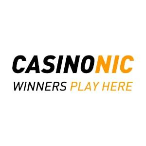 Casinonic homepage